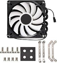 Ventilador del radiador de la CPU, ventilador de la caja Ultradelgado silencioso ID-COOLING IS40x AM4 Heat Pipe ITX Presión descendente CPU Enfriamiento del ventilador del radiador Manga larga Alojami