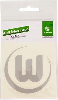 Aufkleber Logo Silber VFL Wolfsburg