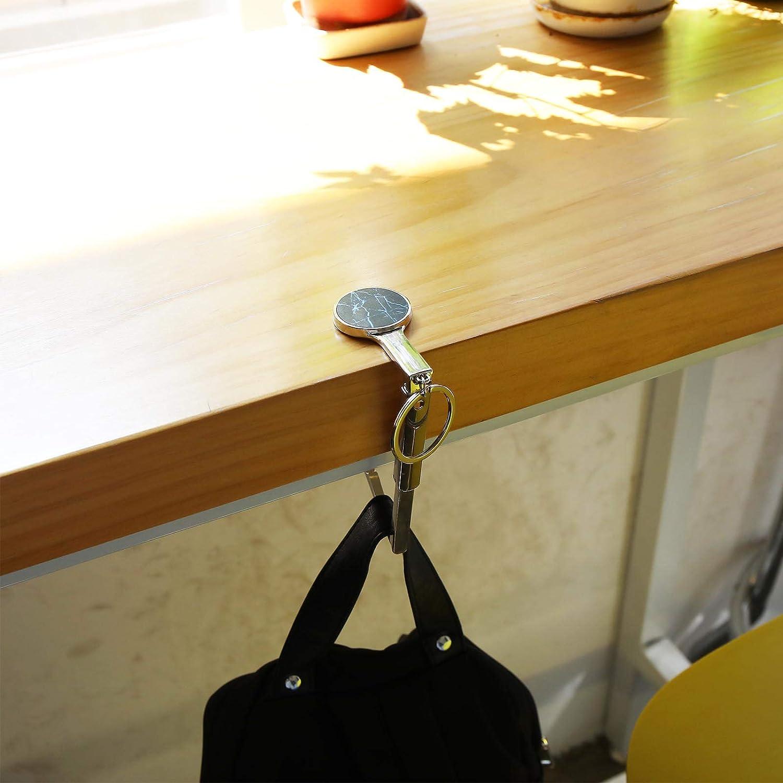 Lot de 5 cintres ronds pour sac /à main Pliables Plusieurs motifs Avec porte-monnaie