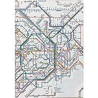 東京カートグラフィック 鉄道路線図ノートA5首都圏日本語 RNASJ