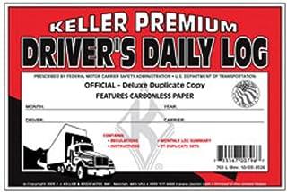 J.J. Keller - Duplicate Driver's Daily Log Book, Carbonless, Pack of 24