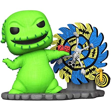 Oogie Boogie with Wheel #811 Pop Movies The Nightmare Before Christmas 3.75 Inch Action Figure