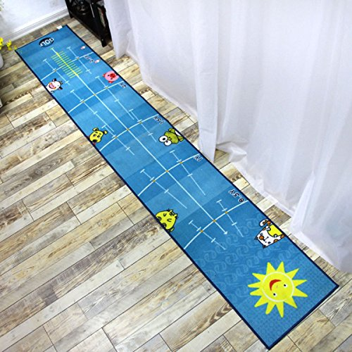 Review Of RFJJAL Indoor & Outdoor Golf Putting Mat, 500x3000mm Blue