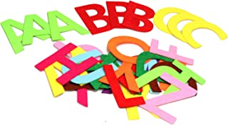 RERIVER 3.2-Inch Felt Alphabet Letters(3 Sets) 78Pcs A to Z Assorted Colors Fabric ABCs for DIY Craft Kids'Toys Christmas Birthday Party Decoration