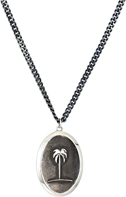 Miansai Palm Tree Pendant Necklace