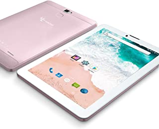 2019 Upgrade - YUNTAB 7 inch 3G Unlocked Android Tablet Smartphone, Support Dual SIM Cards, MT8321 Quad Core Processor, 1GB RAM 16G ROM, with WiFi, GPS and Dual Camera(Rose Gold)