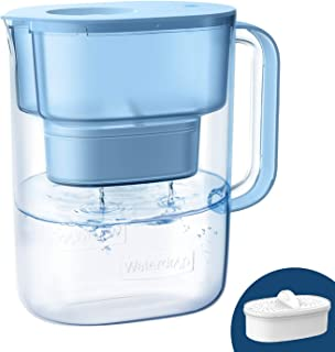 Waterdrop Lucid 10-Cup NSF Certified Water Filter Pitcher, Long-Lasting (200 gallons), 5X Times Lifetime Filtration Jug, R...