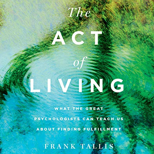 The Act of Living audiobook cover art