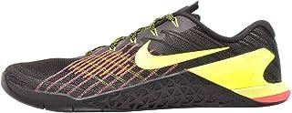 Nike Men's Metcon 3 Training Shoe Black/Volt-Hyper Crimson-HOT Punch 13.0