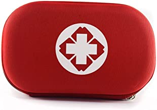 Cxjff Mini Portable Storage Bag Outdoor Travel First Aid Kit Medicine Bag Small Medical Box Emergency Survival Pill Case (...