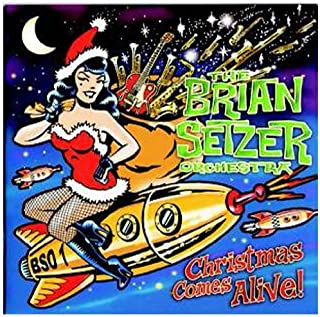 Christmas Comes Alive! by Brian Orchestra Setzer (2010-10-12)