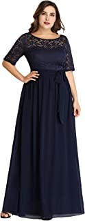 navy blue mother of the bride dresses plus size