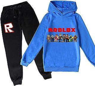 ZKDT Roblox - Sudadera con capucha para niños, estilo informal, a la moda