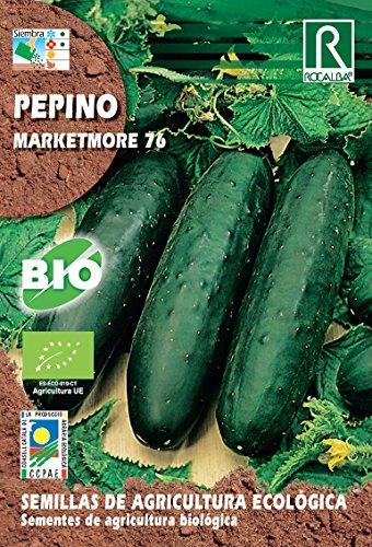 Semillas ECOLOGICAS Pepino Marketmore