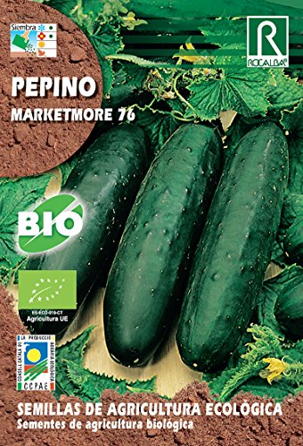 Semillas ECOLOGICAS Pepino Marketmore 76