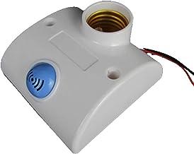 SGJFZD E27 220V Radar Microwave LED Light Sensor Motion Detector LED Light Lamp Bulb Socket Holder Switch for LED Floodlig...