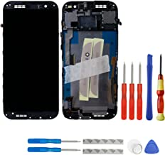 swark LCD Display Touch Screen Digitizer Assembly + Frame + Tools for HTC One M8 831 °C Gold