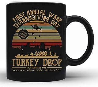 First annual wkrp thanksgiving day Turkey Drop november 22 1978 vintage - 11 oz Gift Mug
