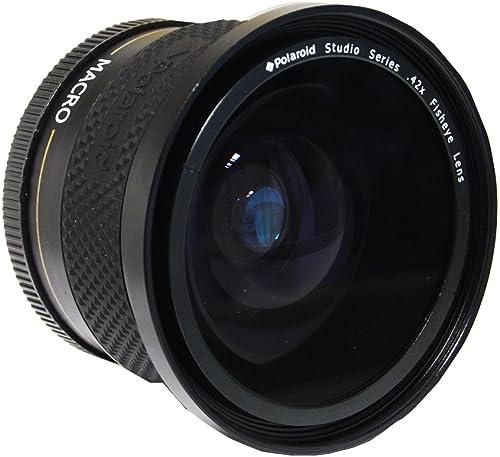 new arrival Polaroid 2021 Studio popular Series .42X HD Fisheye Lens 58mm online sale
