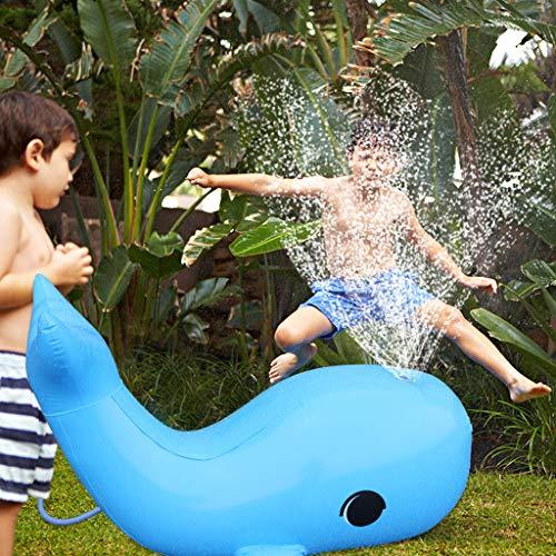 102cm Juguetes Rociadores Delfín Inflable, Niños Rociador De Agua Enorme, Verano Al Aire Libre Juguete De Agua Aspersor Para Césped Yarda Piscina Playa Party