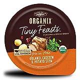 Castor & Pollux Organix Tiny Feasts Grain Free Organic Chicken & Potato Stew 3.5 Oz Wet Dog Food, 3.5 Oz, Case Of 12
