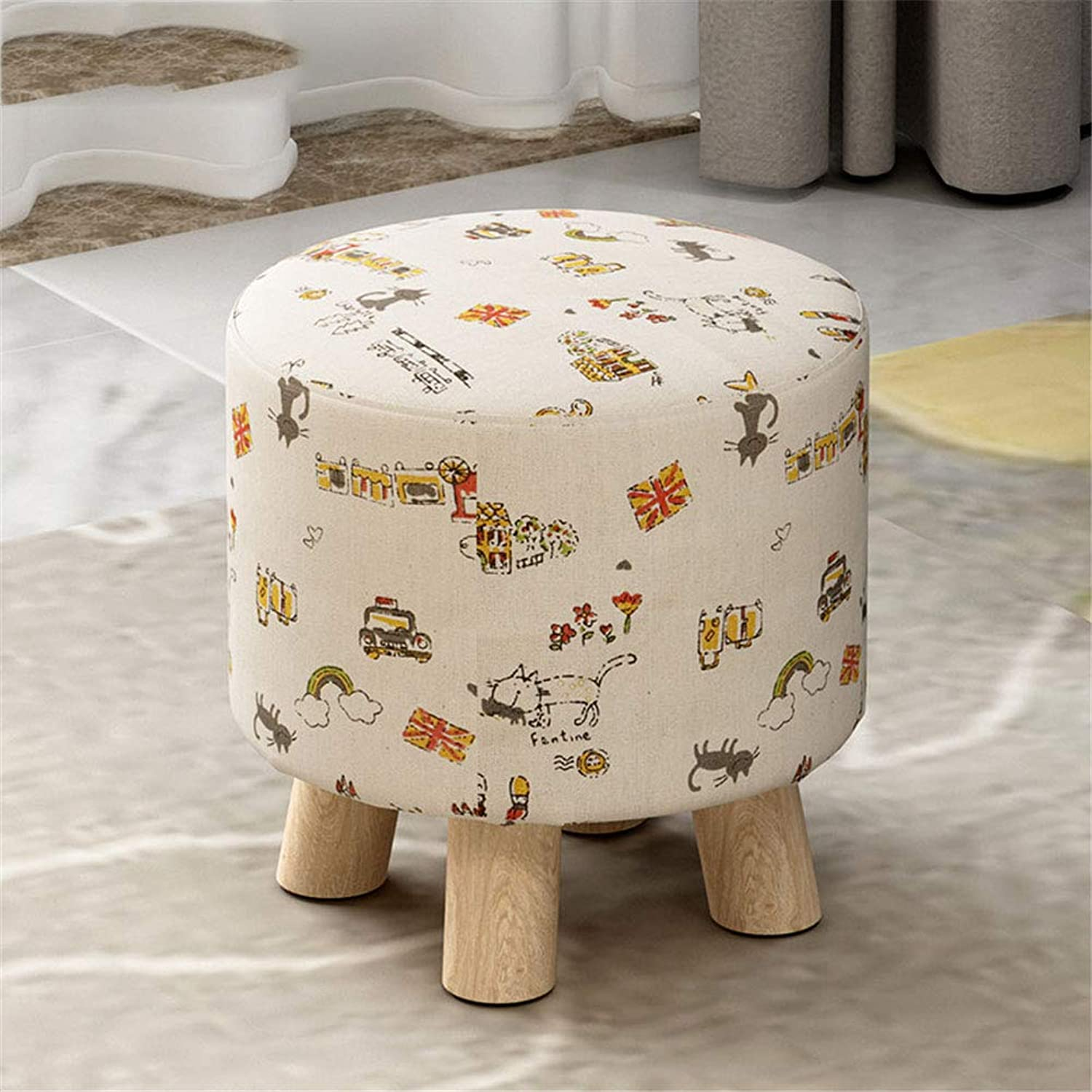 Folding Stool, Sofa Stool Fashion Lazy Stool Personality Home Chair Adult Porch Stool (color   E)