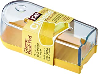 Joie Clear Cheese Fresh Saver Pod, Yellow