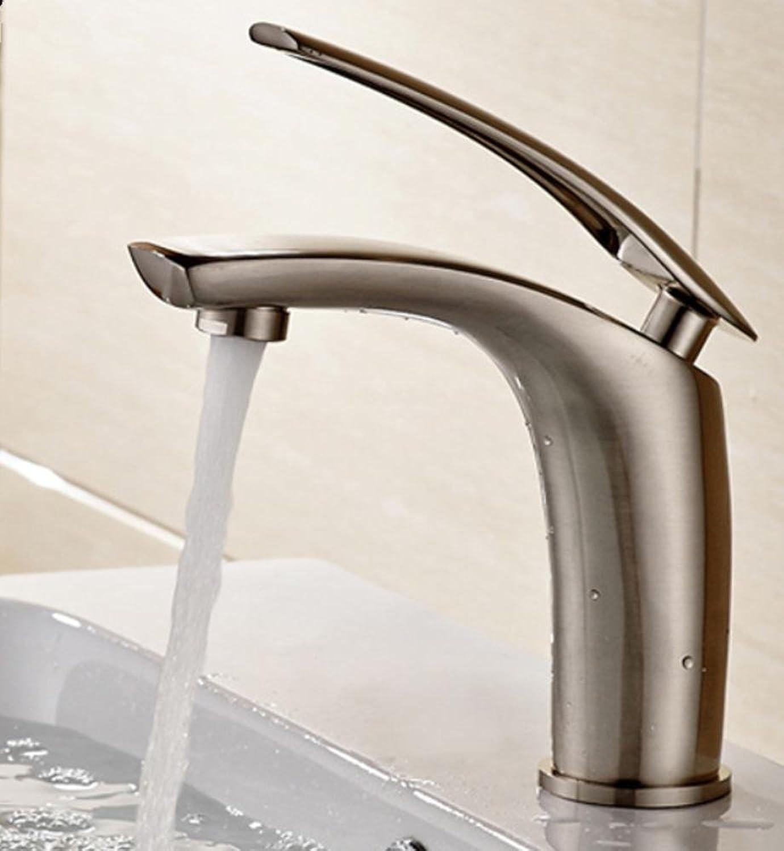 Armaturen im Badezimmer Alle Kupfer Bad Waschbecken Wasserhahn, Zeichnung Retro-Waschtischmischer sinkt