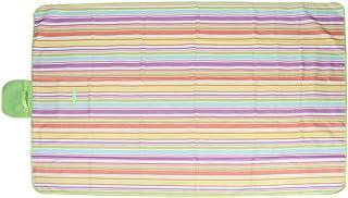 Fdit Niepochłaniająca wilgoci mata piknikowa, koc kempingowy, na rodzinne podróże (145 x 200 cm)