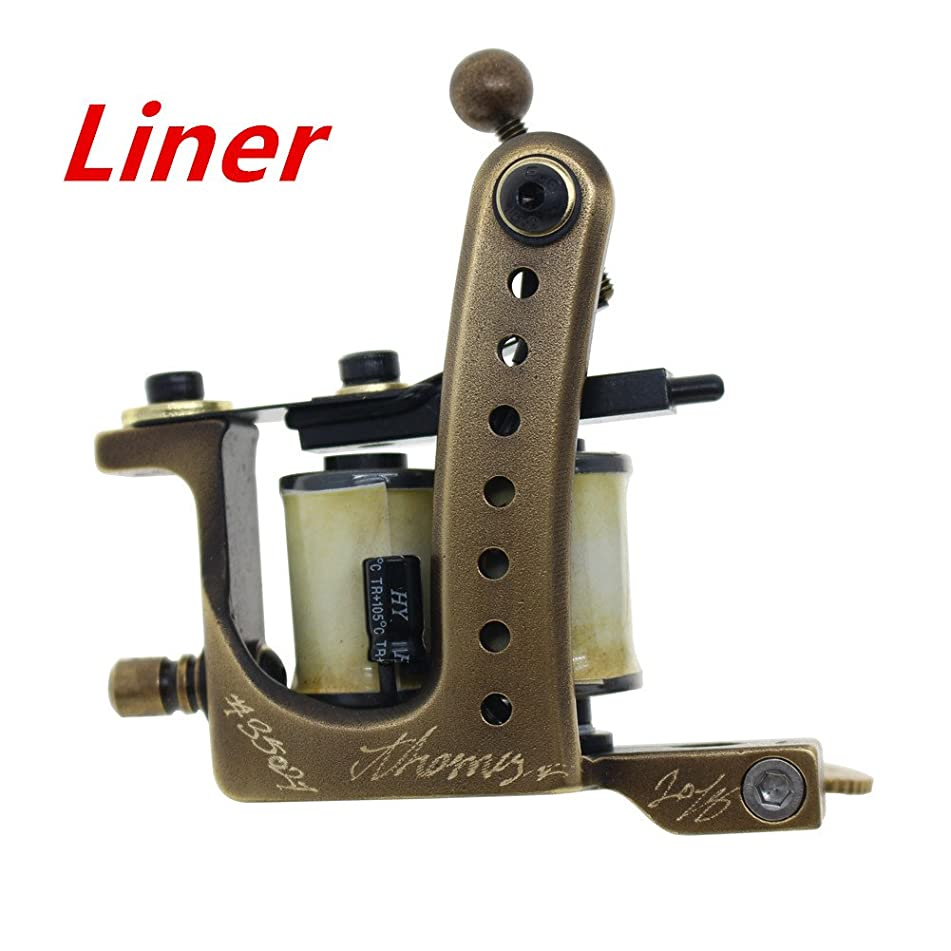 Coil Tattoo Machine Handmade Tattoo Gun 8 Wrap Coils for Liner From Thomas(Liner)