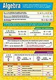 Algèbre | Graphiques mathématiques | Papier brillant de 594 mm x 850 mm (A1) | Cartes mathématiques pour la classe | Affiches éducatives par Daydream Education