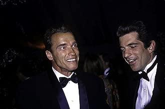 Arnold Schwarzenegger and John Kennedy Jr Photo Print (10 x 8)