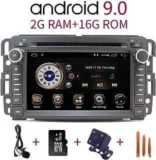 Car Stereo Radio in Dash Navigation for GMC Sierra Yukon Chevrolet Buick Chevy Silverado,7 inch HD Touchscreen Android 10....