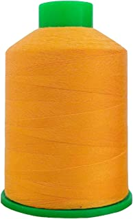 BAC YANG Poly Filament Core Sewing Thread for Sewing Machine All Purpose 1800Yard,Orange