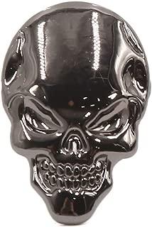 uxcell Car Motorcycle 3D Emblem Badge Decal Skeleton Skull Bone Shape Sticker