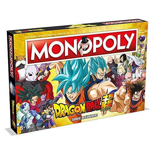 Winning Moves Monopoly Dragon Ball Super-Jeu de société-Version française, WM00250-FRE-6
