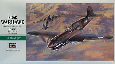 Hasegawa 1:48 P-40E Warhawk US Army Air Force Plastic Kit #JT86 #09086