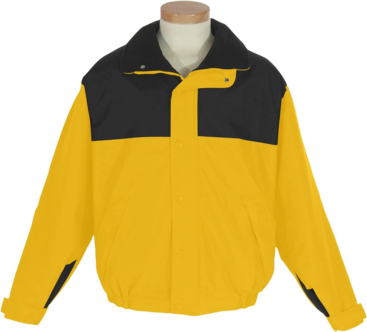 Big Mens Summit Jacket with Contrasting Panels
