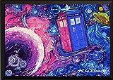 Uhomate Tardis Dr Who Doctor Telefonzelle, Wanddekoration,