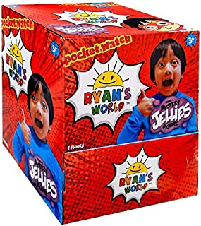 Ryan's World Surprise Jellies Squishy Toys Full Box of 24 - Includes 24 Random Character Packs