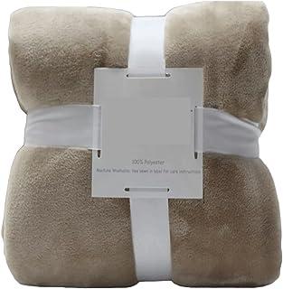 Cozy Blanket الصوف رمي بطانية،مزدوجة من جانب سوبر لينة الفاخرة بطانية فاخرة رمي 100 * 120CM Fluffy Blankets