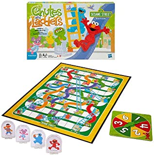 Chutes and Ladders Game - Sesame Street