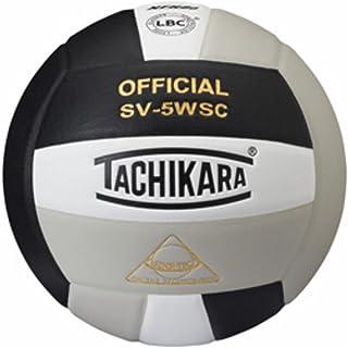 Tachikara Sensi-Tec Composite Sv-5wsc Volleyball Black/White/Silver