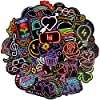 Afufu Stickers Pack [50-Pcs] , Stickers for Kids Vinyls Stickers for Laptop, Skateboard, luggage, Water Bottles, Guitar, Waterproof Vsco Stickers Decals, Gifts for Teens Adults
