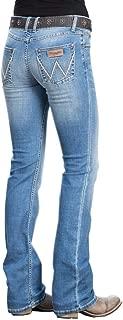Womens Retro Mae Mid-Rise Bootcut Jeans