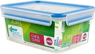 emsa Frischhaltedose CLIP CLOSE, 2, 30 Liter, transparent