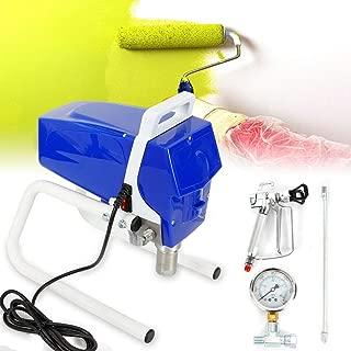 YUNRUX Airless - Pulverizador de pintura a presión (1050 W, para paredes y madera, para interiores y exteriores, 2,1 L/min)