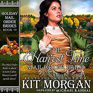 The Harvest Time Mail-Order Bride audiobook cover art