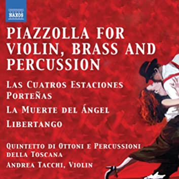 Piazzolla for Violin, Brass and Percussion