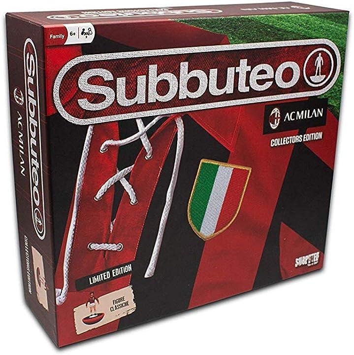 Subbuteo playset ac milan (collectors retro edition) 13095